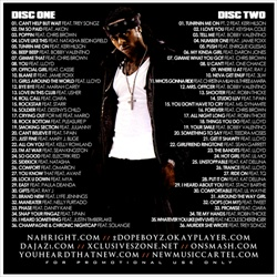 New Music Cartel & Lil Wayne The Wayne Experience Disc 2 Back Cover