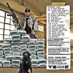 Lloyd Banks & DJ Whoo Kid Return Of The PLK Back Cover