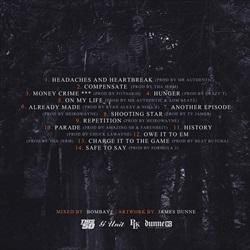 Lloyd Banks Halloween Havoc 3: Four Days of Fury Back Cover