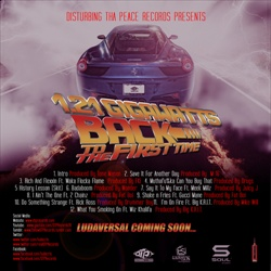 Ludacris 1.21 Gigawatts: Back To The First Time Back Cover