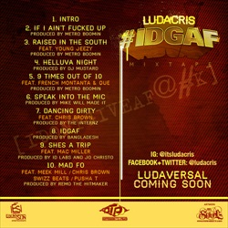 Ludacris #IDGAF Back Cover