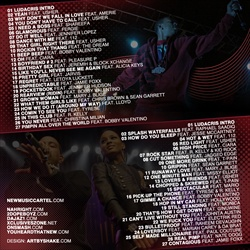Ludacris Love, Lust, Luda Disc 2 Back Cover