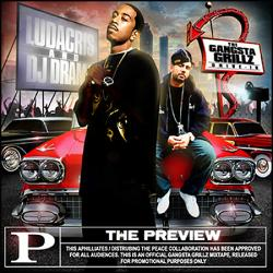 Ludacris & DJ Drama The Preview Front Cover