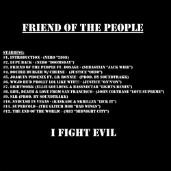 Lupe Fiasco Friend of The People Back Cover