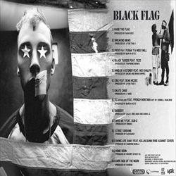 Machine Gun Kelly Black Flag Back Cover