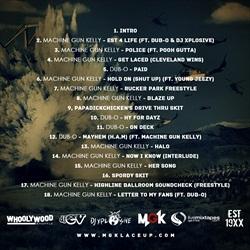 Machine Gun Kelly EST 4 Life Back Cover