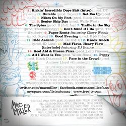 Mac Miller K.I.D.S. Back Cover