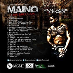 Maino I Am Who I Am Back Cover