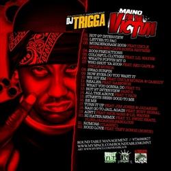 DJ Trigga & Maino I'm The Victim Back Cover