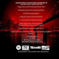 Maino K.O.B. (King of Brooklyn) EP Back Cover