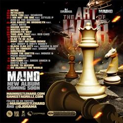 DJ Drama & Maino The Art of War Back Cover
