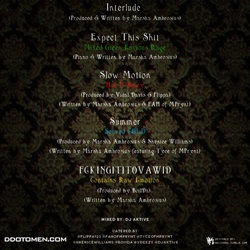 Marsha Ambrosius Hors D'Oeuvres EP Back Cover