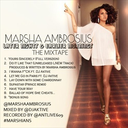 Marsha Ambrosius Later Nights & Earlier Mornings Front Cover