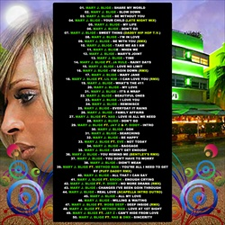 DJ OS & Mary J. Blige The Best of Mary Back Cover