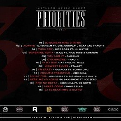 Maybach Music Group Priorities 3 Back Cover