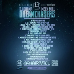 Meek Mill Dream Chasers Back Cover