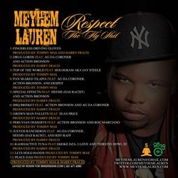 Meyhem Lauren Respect The Fly Sh*t Back Cover