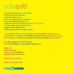 Adele Adele 1988 Back Cover