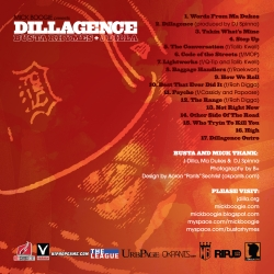 Mick Boogie, Busta Rhymse & J. Dilla Dillagence Back Cover