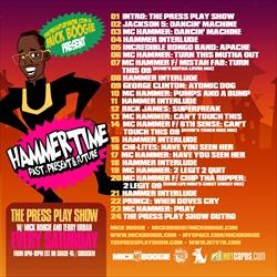 ThePressPlayShow.Com & Mick Boogie Hammertime: Past, Present & Future Back Cover
