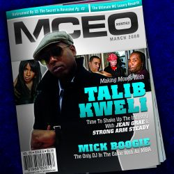Mick Boogie & Talib Kweli MCEO Front Cover