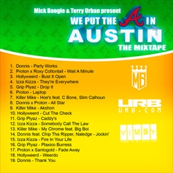 Mick Boogie & Terry Urban We Put The A In Austin Back Cover