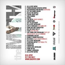 DJ G-Spot & Mick Luter The Myth Back Cover