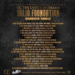 Migos & DJ Drama Solid Foundation Back Cover