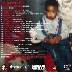Mike WiLL Made It Est. In 1989 Pt 2.5 Back Cover
