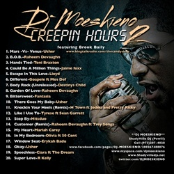 DJ Moeskino Creepin Hours 2 Back Cover