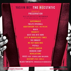 Yasiin Bey & Preservation The REcstatic Back Cover