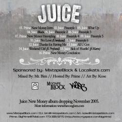 Mr. Bim, Localkats & Mixtape Block Juice Thirty Minute Freestyle Back Cover