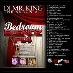 DJ Mr. King Bedroom Blends Vol. 4 Back Cover