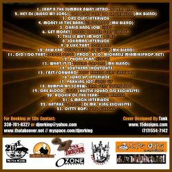 DJ Mr. King & Hustle Squad DJs Southern Smothered & Covered Pt. 5 Back Cover