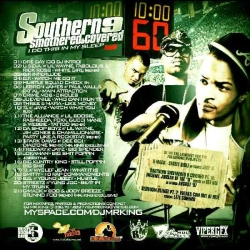 DJ Mr. King Southern Smothered And Covered Pt. 9 Back Cover