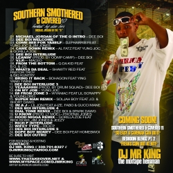 DJ Mr. King Southern Smothered & Covered 10 Back Cover