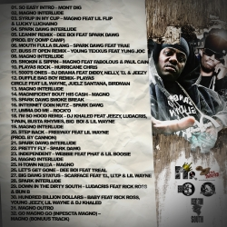DJ Mr. King Southern Covered And Smothered Pt. 11 Back Cover