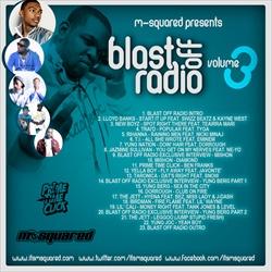 M-Squared Blast Off Radio Vol. 3 Back Cover