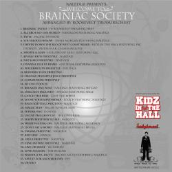 Naledge Welcome To The Brianiac Society Back Cover