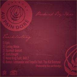 Naledge & Ikaz Au Pain Dore EP Back Cover