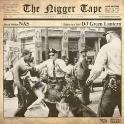 Nas & DJ Green Latern The Nigger Tape Back Cover