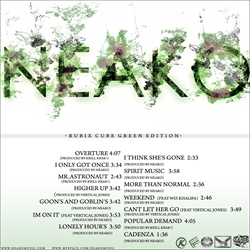 Neako The Rubix Cube: Green Edition Back Cover