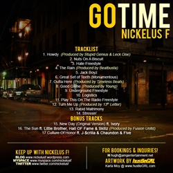 Nickelus F Got Time Back Cover