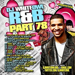 DJ Whiteowl R&B PT. 78 Front Cover