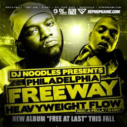 DJ Noodles & Freeway Heavyweight Flow Front Cover