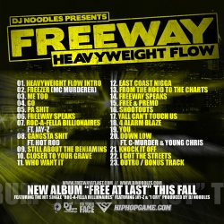 DJ Noodles & Freeway Heavyweight Flow Back Cover