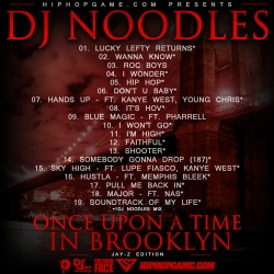 DJ Noodles & Jay-Z Once Upon A Time In Brooklyn Back Cover