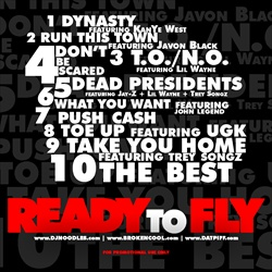 DJ Noodles & Drake Ready To Fly Back Cover