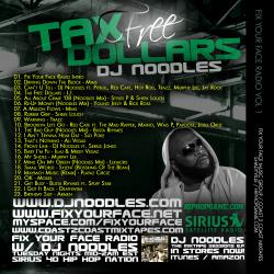 DJ Noodles Tax Free Back Cover