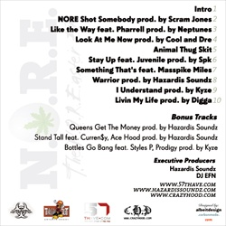 Nore NORE'aster Back Cover